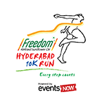 Hyderabad 10K Run 2016 photos, Download Race photos, Finishers medal photos, Finisher video, Finish line photographs, Race photography, Event photography, Candid moments of Race participants