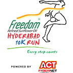 Hyderabad 10K Run 2017 photos, Download Race photos, Finishers medal photos, Finisher video, Finish line photographs, Race photography, Event photography, Candid moments of Race participants
