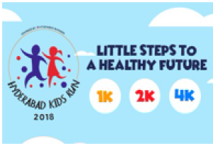 Hyderabad Kids Run 2018 photos, Download Race photos, Finishers medal photos, Finisher video, Finish line photographs, Race photography, Event photography, Candid moments of Race participants